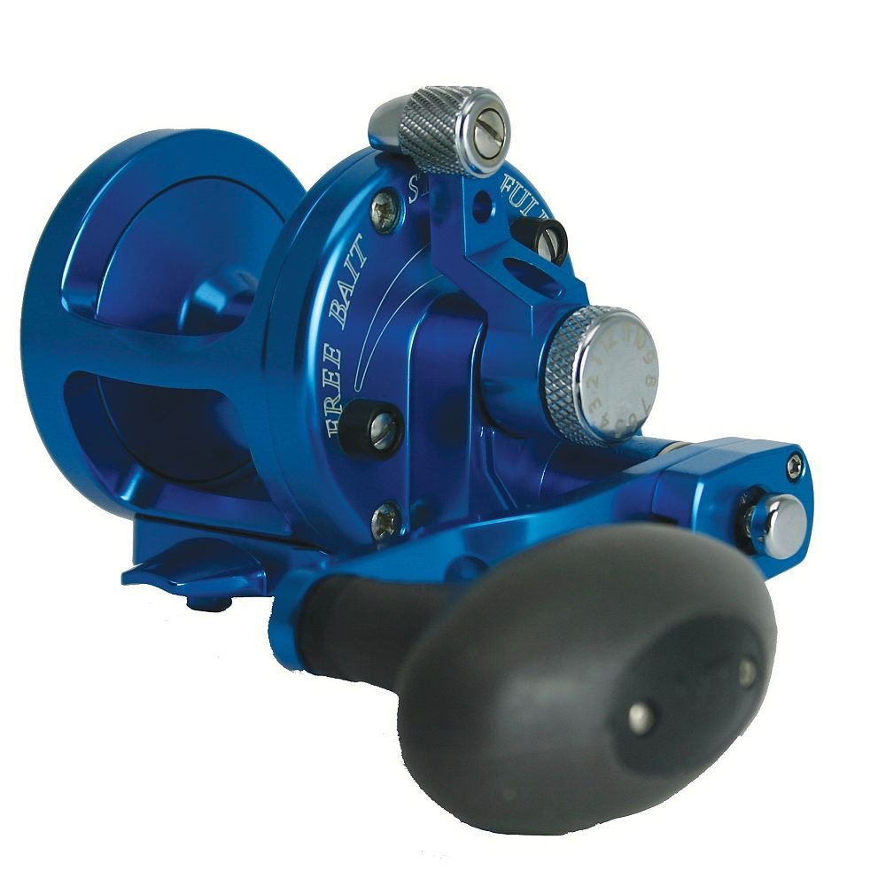 Avet SX 6 4 Two Speed Reel – Right-Hand – Blue