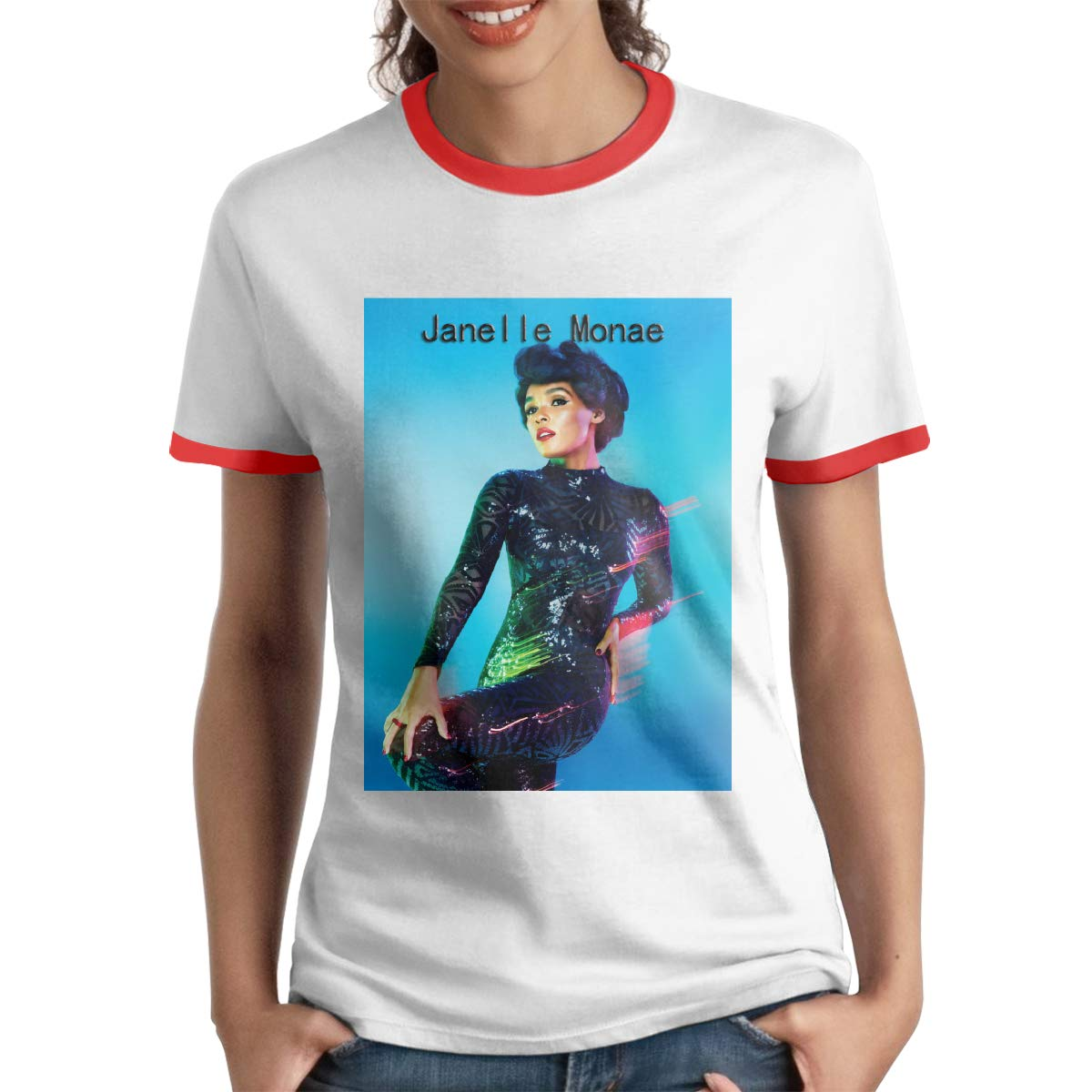 Scattering Womans Janelle Monae Unique St.Valentines Day Gift Regular Shirt