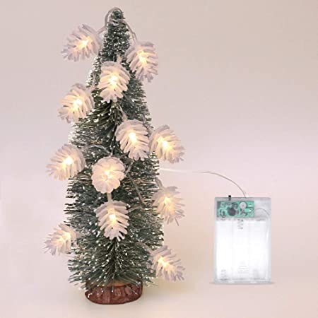 Christmas Candle LED Light Fairy Santa Claus Xmas Tree Decoration Party Supplies