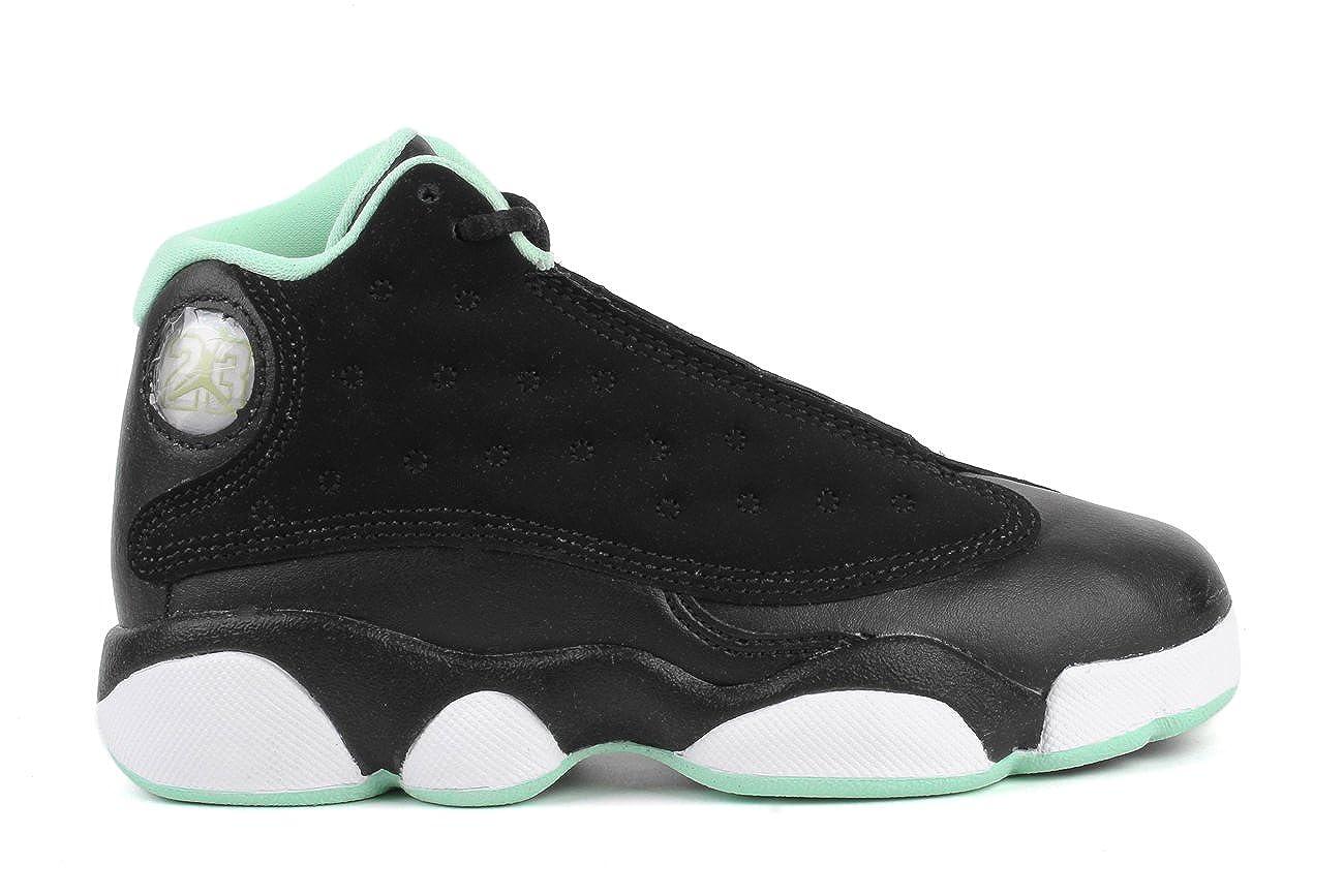 check out 5a332 1e29c Amazon.com   NIKE Air Jordan 13 GP Little Kid s Shoes Black Metallic Gold  Mint Foam, 12   Sneakers