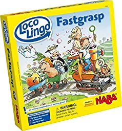 HABA Loco Lingo Fastgrasp - An Exciting Compendium of Learning Games for Ages 3 + (Made in Germany)
