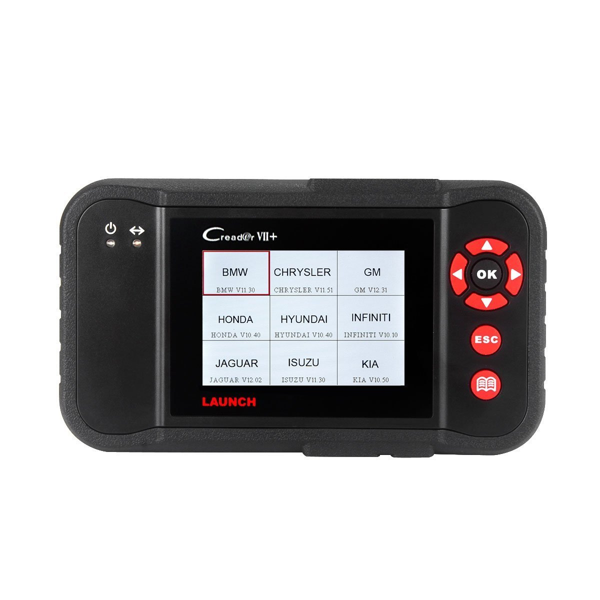 Launch X431 Creader VII+ ( CRP123) Auto Code Reader EOBD, OBD2 Scanner Scan Tool Testing Engine/Transmission/ABS/ Airbag System Update via PC