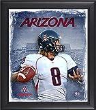 Best Sports Memorabilia Sports Memorabilia Collage Makers - Nick Foles Arizona Wildcats Framed 15