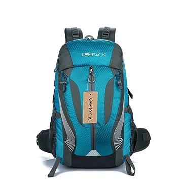 Mochila de senderismo mochila 40L resistente al agua senderismo mochila monta/ñismo mochila para viaje escalada ciclismo running Camping Deportes al aire libre por anano