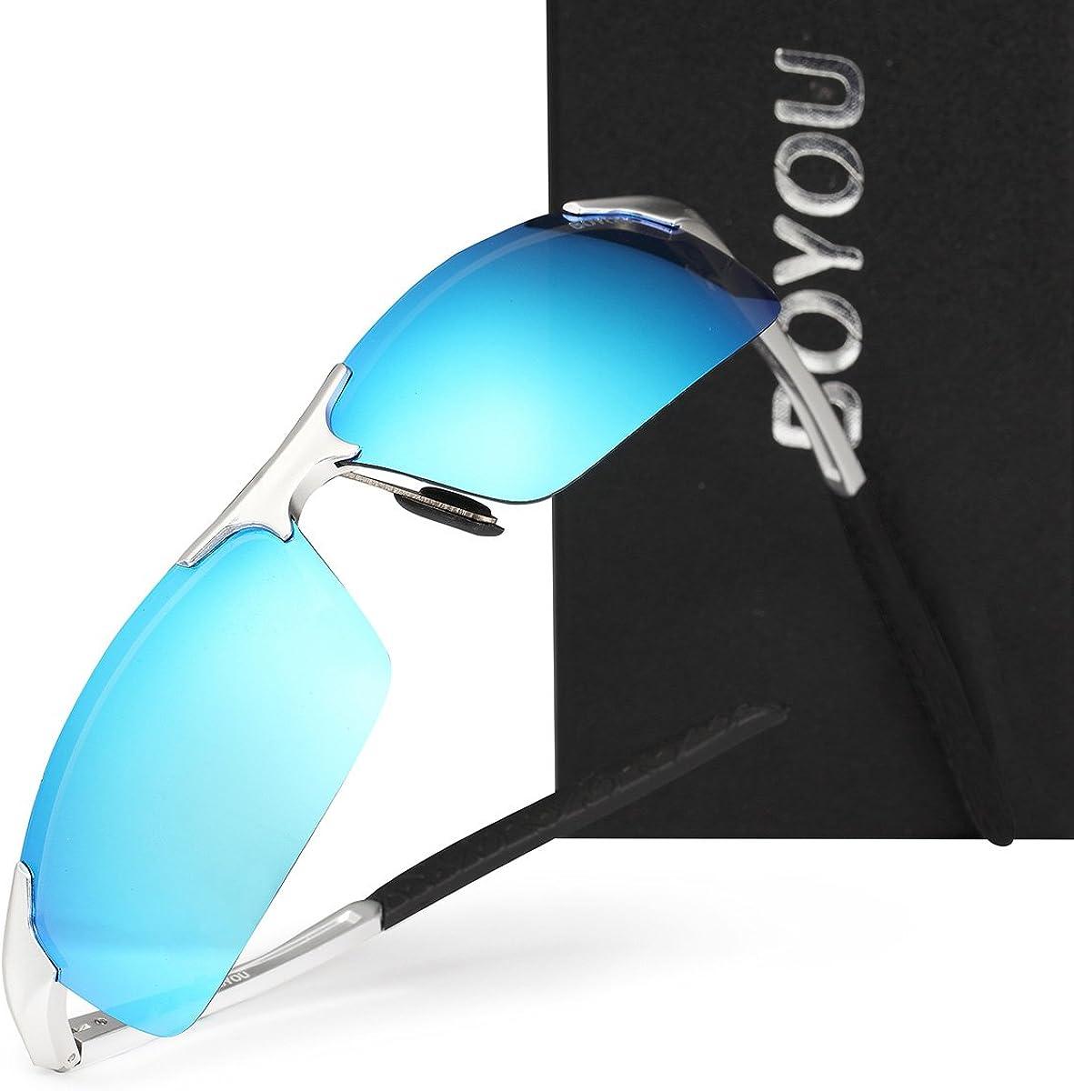 BOYOU Polarisierte Herren Sonnenbrille Sommer Draussen Eyewear Sonnenbrille f/ür Herren