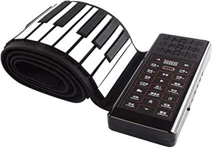 Instrumentos Musicales 88 Teclas De Rollo De Mano Midi ...