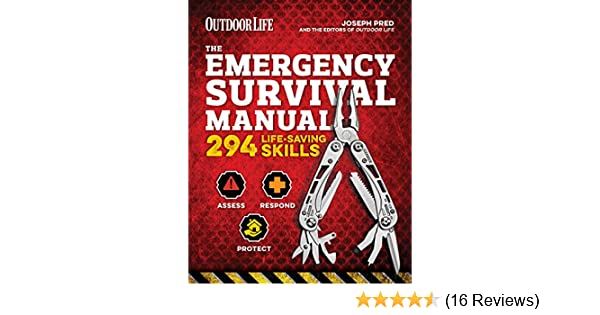 Amazon the emergency survival manual 294 life saving skills amazon the emergency survival manual 294 life saving skills ebook joseph pred the editors of outdoor life kindle store fandeluxe Images