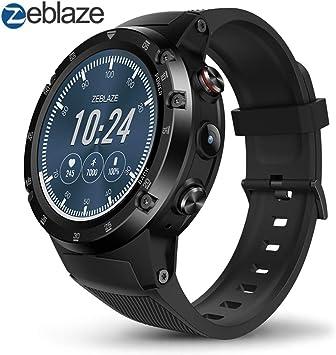Zeblaze Thor 4 Plus Smartwatch, 4G Reloj Inteligente Android 7.1 ...