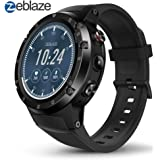 Zeblaze Thor 4 Plus Smartwatch, 4G Reloj Inteligente Android 7.1 Quad Core 1G + 16G