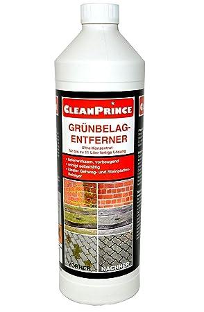 Hervorragend CleanPrince 1 Liter Grünbelagentferner Konzentrat Hochkonzentrat IJ66