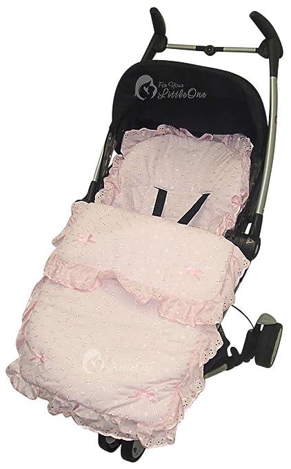Saco de dormir con capucha para cochecito de bebé ...