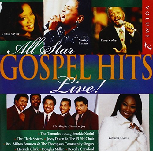 Search : All Star Gospel Hits 2: Live / Various