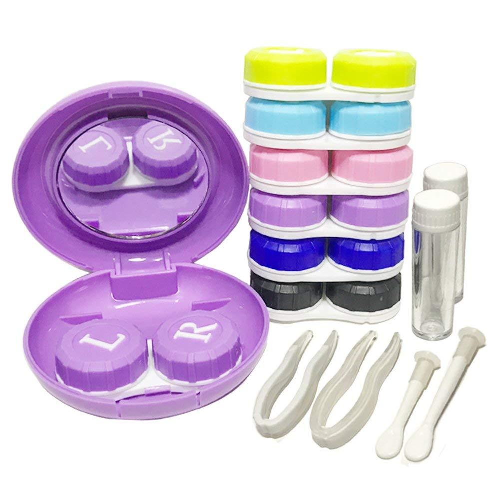 Amazon.com: hathlove lentes de contacto caso Kit de viaje ...