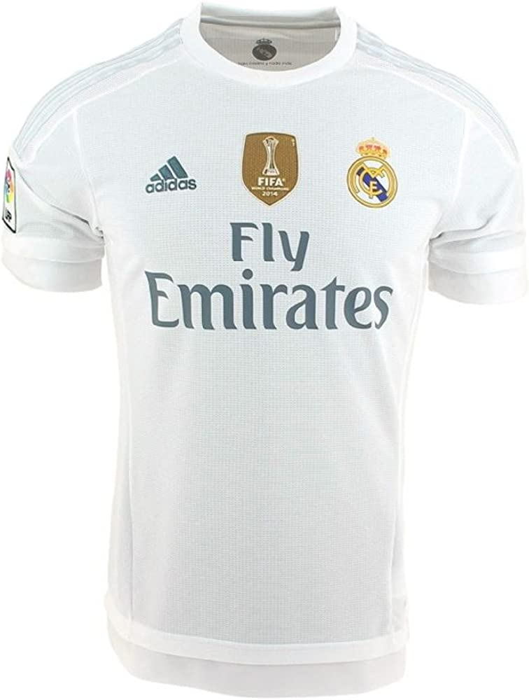 adidas Camiseta Oficial Primer Real Madrid CF, Primer Equipo 2015 ...