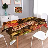 Homesonne Tablecloths For Kitchen,colorful lantern lamps traditional style concept for arabic islamic culture and design ornate,Thick Cotton Linen Blended Large Prints Creative Table Cloths