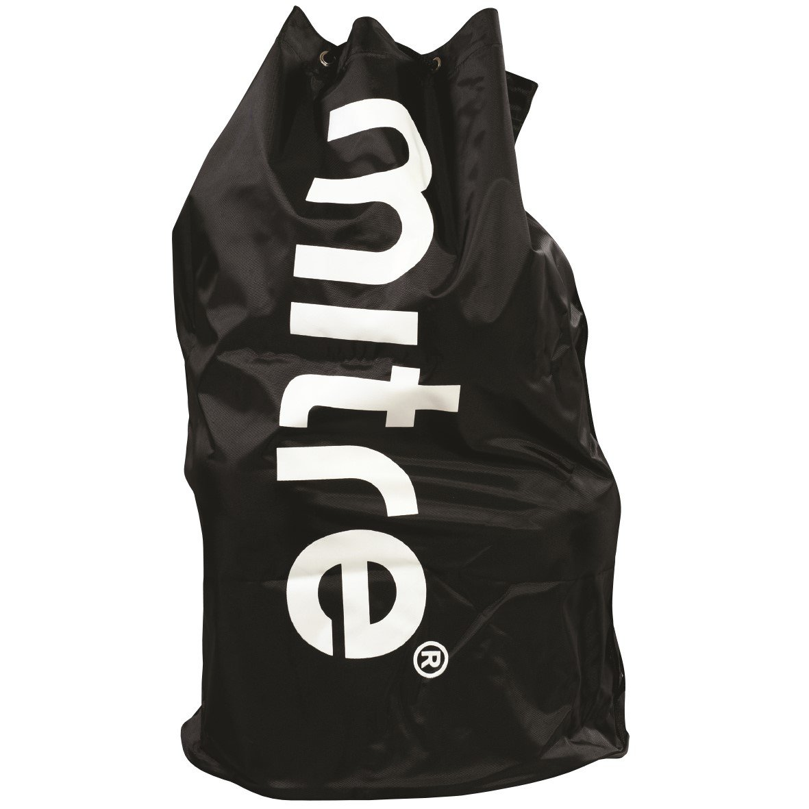 Mitre H8004 Jumbo Football Bag, Holds 20 Balls, Black