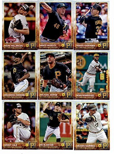 2015-topps-baseball-cards-pittsburgh-pirates-complete-master-team-set-series-1-2-update-36-cards-wit