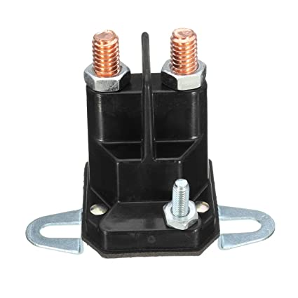 MXBIN Interruptor de relé de solenoide de arranque de 3 ...