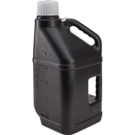 White 5 Gallon LC LC2 Utility Jug