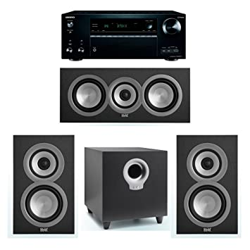 ELAC Uni Fi 31 System With 2 UB5 Bookshelf Speakers 1 UC5 Center Speaker