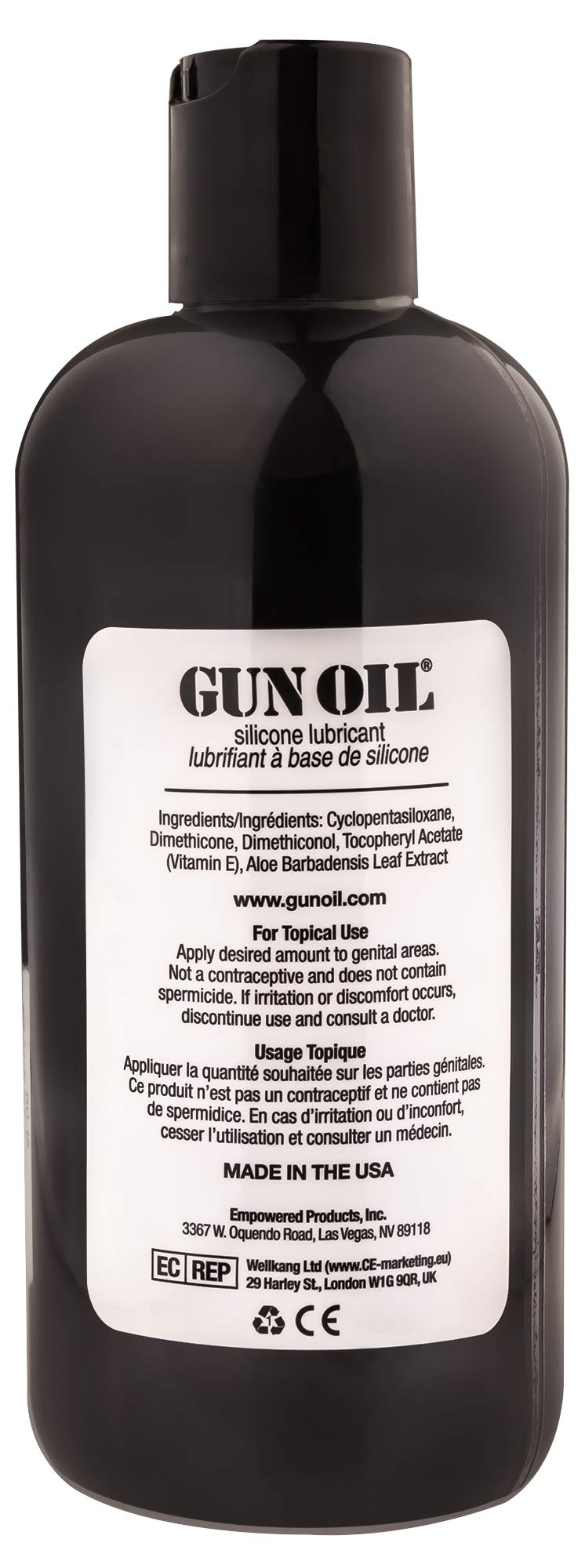GUN OIL Silicone Lubricant - Hypoallergenic Silicone-Based Lubricant for Long-Lasting Lubrication (16 oz) by Gun Oil (Image #2)