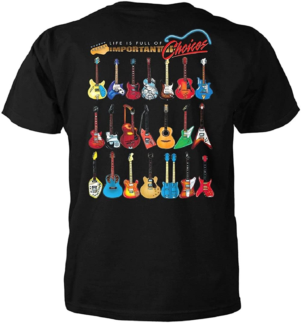 Amazon Superb Selection Guitar T Shirt Life Is Full Of