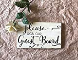 17x30cm Please Sign Our Guest Book Wood Sign Please Sign Our Guest Board Wood Sign Rustic Alternative Guest Book Rustic Guest Book Wood Sign cb679676