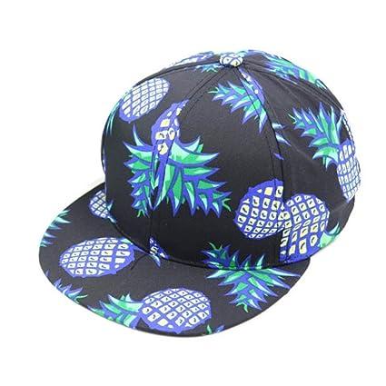 e3dbe3f0c78b4 Ussore 1PC Men quot s Women quot s Pineapple Snapback Bboy Outdoor Cycling  Casual Hip Hop