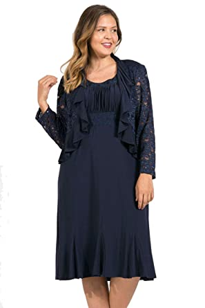 484164ba15d R M Richards Short Plus Size Mother of The Bride Dress at Amazon Women s  Clothing store