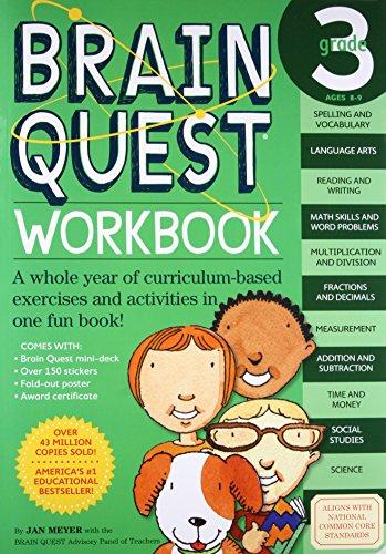 Brain Quest Workbook: Grade 3 (Brain Quest Workbooks) (Hutch Library)