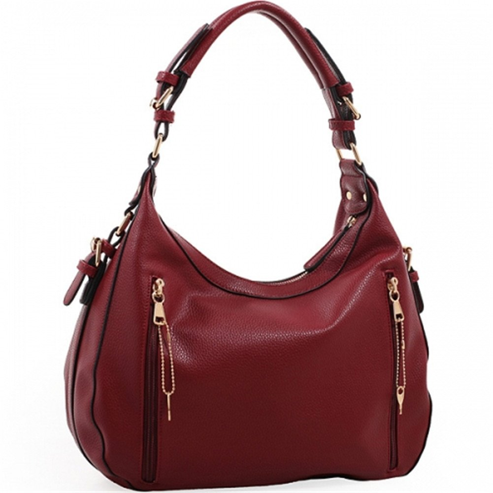 Amazon.com  Chloe Lock and Key Concealed Carry Gun Pocket Soft Leather  Purse Handbag with Matching Wallet (Coffee)  Clothing 7b43c6afddbb