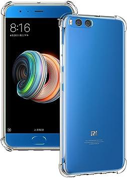 Funda Xiaomi Mi Note 3, Siuber Delgado Crystal Clear Transparent ...