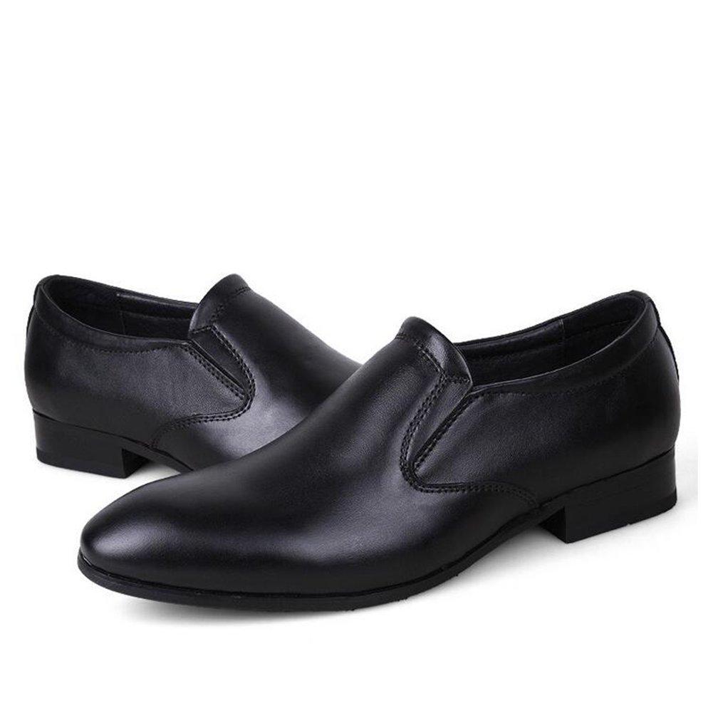 2018 Neue Schuhe Herren Lederschuhe Casual Business Schuhe Neue Atmungsaktive Slip-Ons Frühling Herbst,C,41 - 423595