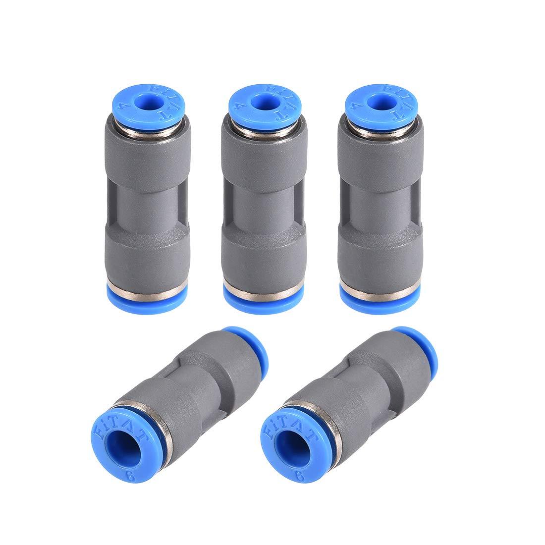 sourcingmap/® conector com/ún 6mm a 7mm de lat/ón de aleaci/ón de aluminio de acoplamiento del eje del motor