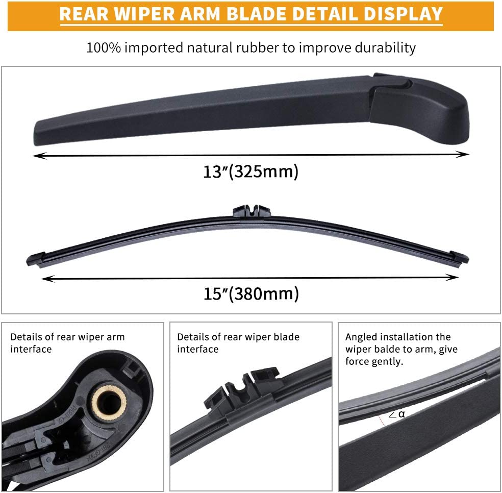 Windscreen Wiper Blade Kit X5 SUV 2007-2011 E70