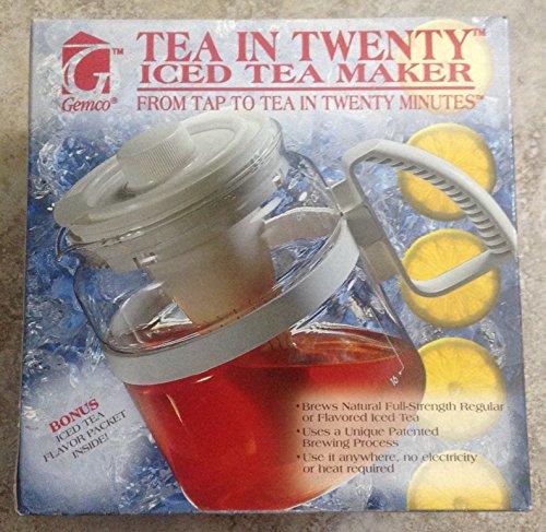 Price comparison product image Gemco Tea in Twenty Iced Tea Maker