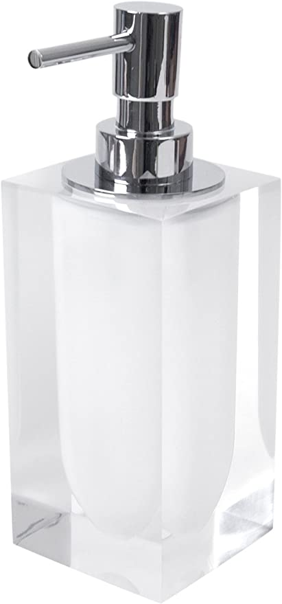 Jonathan Adler Hollywood Lotion Pump White Home Kitchen