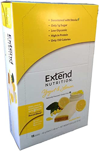 Extend Bar, Yogurt and Lemon, 1.48 oz. Bars 15 Count
