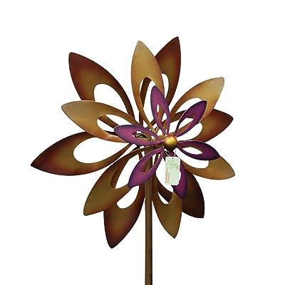 Home Locomotion 10016772 Koehler Home Decor Dancing Sunflower Windmill Garden Spinner, Multicolor: Home & Kitchen [5Bkhe1104513]