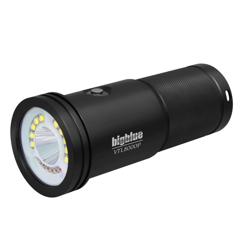 Bigblue VTL8000-8000 Lumen Dual Beam Light - Video/Tech
