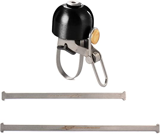 ROCKBROS Cycling Bell Loud Sound Alarm 80DB Horn Handlebar Riding Bell 22.2mm US