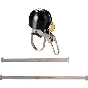 Rockbros Bike Bicycle Cycling Handlebar Bell Safety Metal Ring Loud Sound Handlebar Bells Ultra-loud MTB Road Bikes Horns Silver CS194