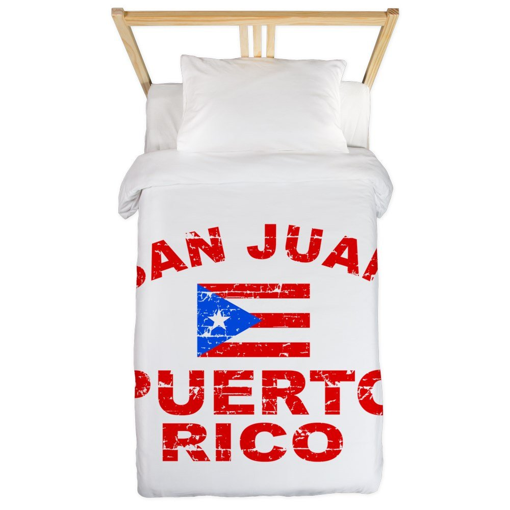 CafePress San Juan Puerto Rico Designs Twin Duvet Twin Duvet Cover, Printed Comforter Cover, Unique Bedding, Microfiber by CafePress (Image #1)