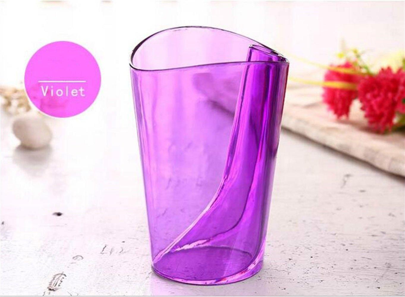 SUxian - Vaso para Cepillo de Dientes, 1 Pieza, para Boca, Vaso, Vaso, Pasta de Dientes, para el Baño, Suministros de Almacenamiento de cepillos de Dientes: ...