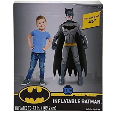 WHAT KIDS WANT! Party Favors Batman Super Size 43' Inflatable Character: Garden & Outdoor