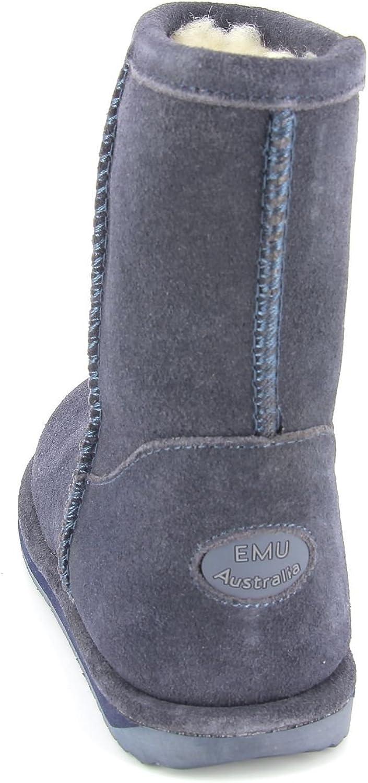 EMU - Brumby Lo, Stivale da Bambine e Ragazze Indaco