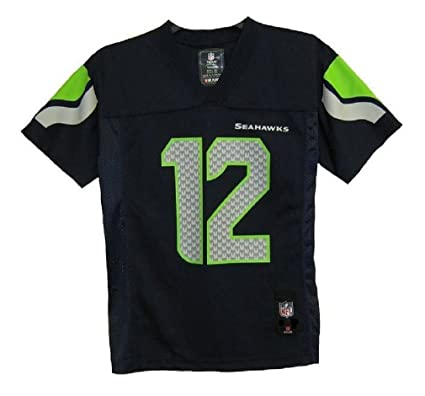 e6852bd0d07 ... promo code for outerstuff seattle seahawks youth 12th man navy jersey  medium 10 12 27a6a 48db8