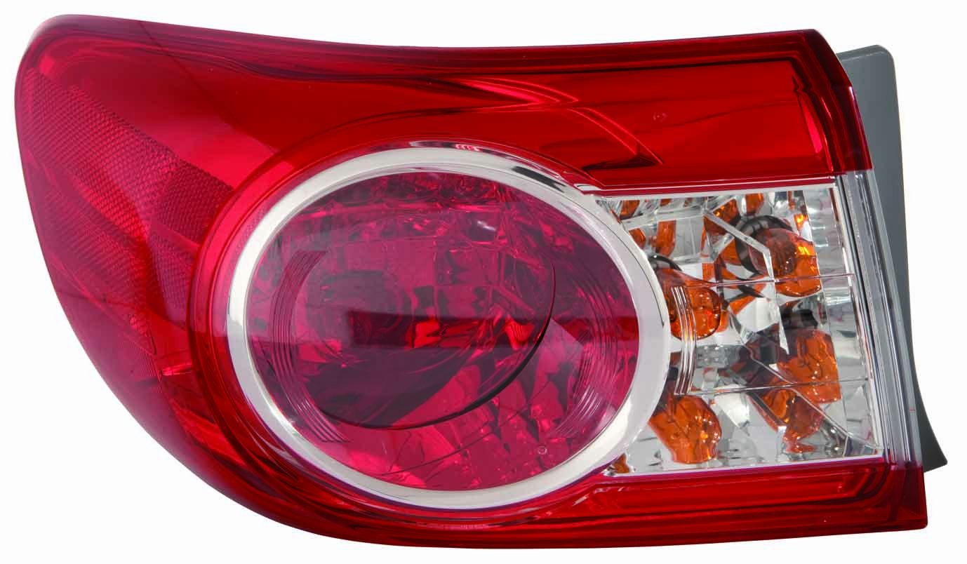 Depo 312-19A8L-AF Toyota Corolla Driver Side Tail Light Assembly