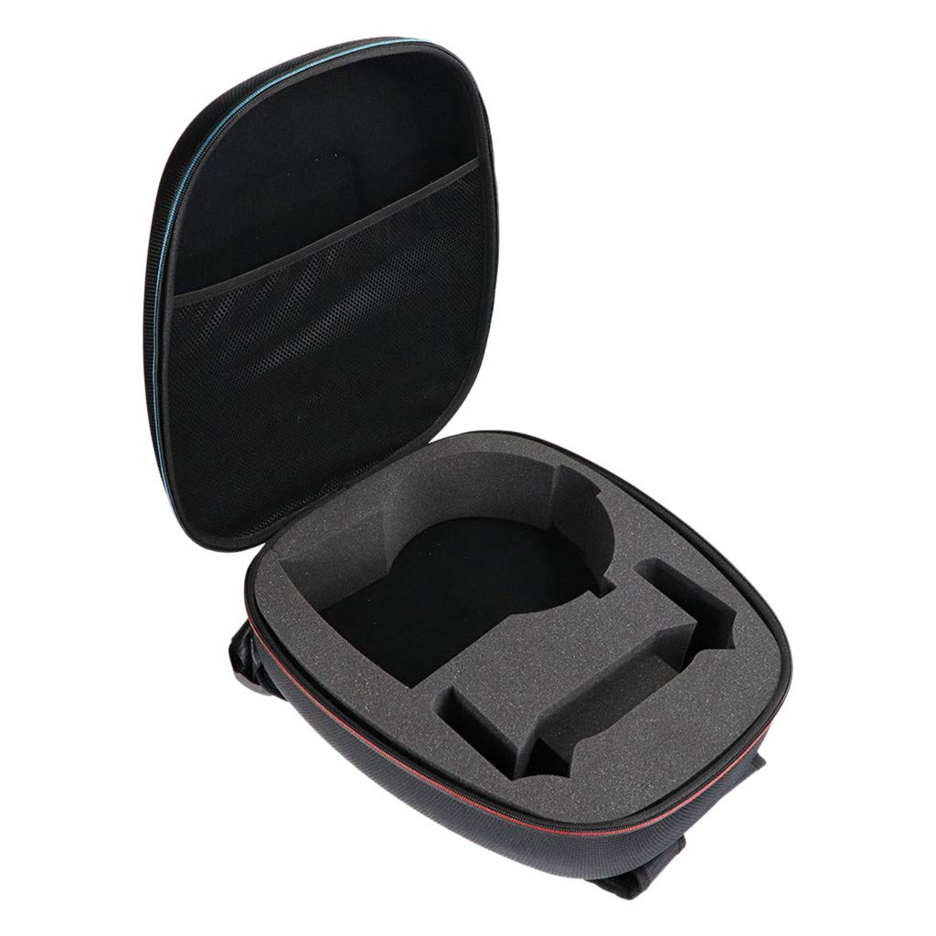 Travel Carrying Case for Oculus Rift S PC-Powered Virtual Reality Headset, Protective Bag High Capacity Storage Case for Oculus Rift S PC-Powered VR Headset Controller Adapter Cable Accessories