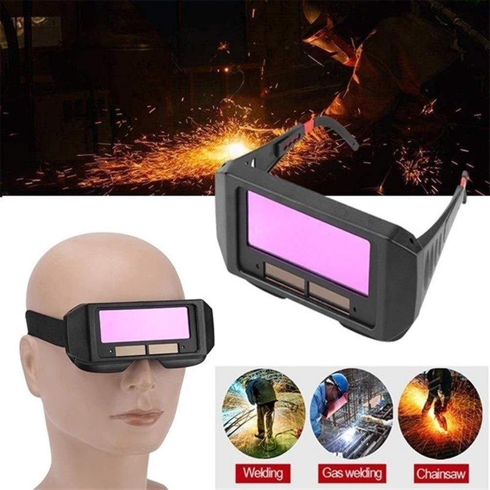 YUANYUAN521 Solar Auto Darkening Welding Helmet Eyes Protector Welder Cap Goggles Machine Cutter Soldering Mask Filter Lens Tools by YUANYUAN521